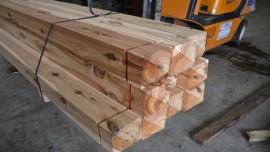 Cypress Post - PYRAMID - 125x125x1800 DAR