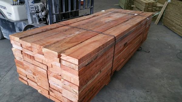 Redgum Sleepers 200x50x2400